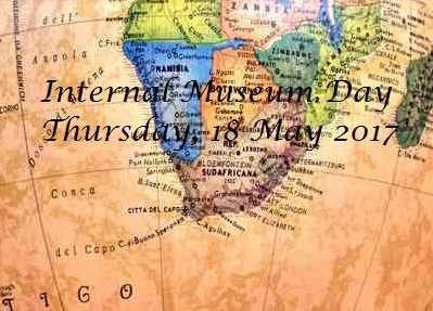 International Museum Day – 18 May 2017